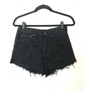 American Eagle vintage high-rise festival shortie